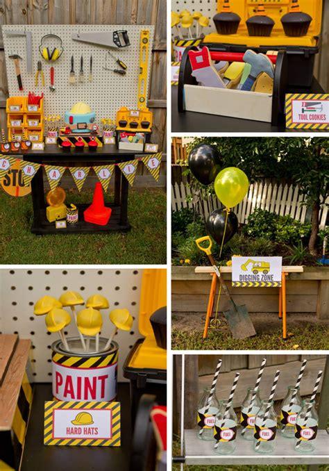construction theme decorations construction birthday photo ideas construction birthday