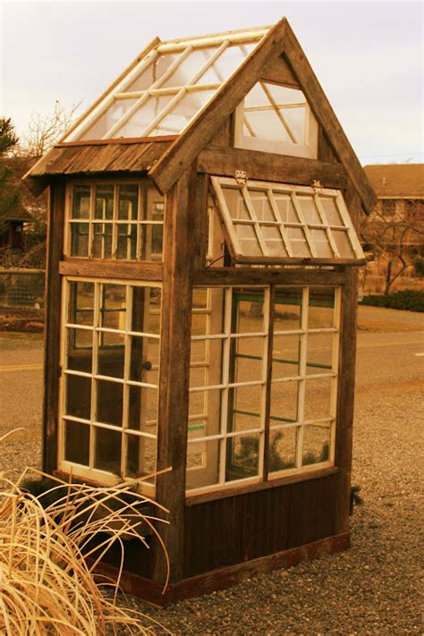 Small Shed Windows Ideas Greenhouse Out Of Windows Outdoor Living Growing A Garden Planting Plants