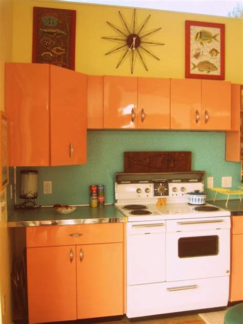 Mid Century Modern Kitchen Cabinets 25 Best Vintage 50 S Metal Kitchen Cabinets Images On Nyc New York Times And 50s