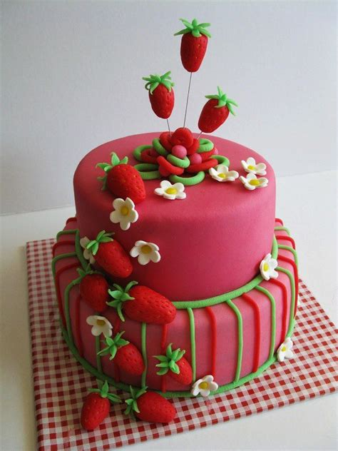 Strawberry Shortcake Birthday Decorations Festa Da Moranguinho 50 Decora 231 245 Es Bolos E Convite