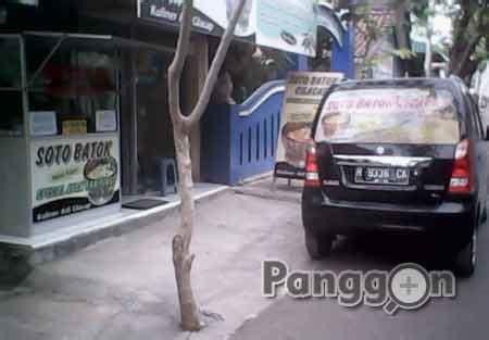 alamat telepon kuliner soto batok cilacap jawa