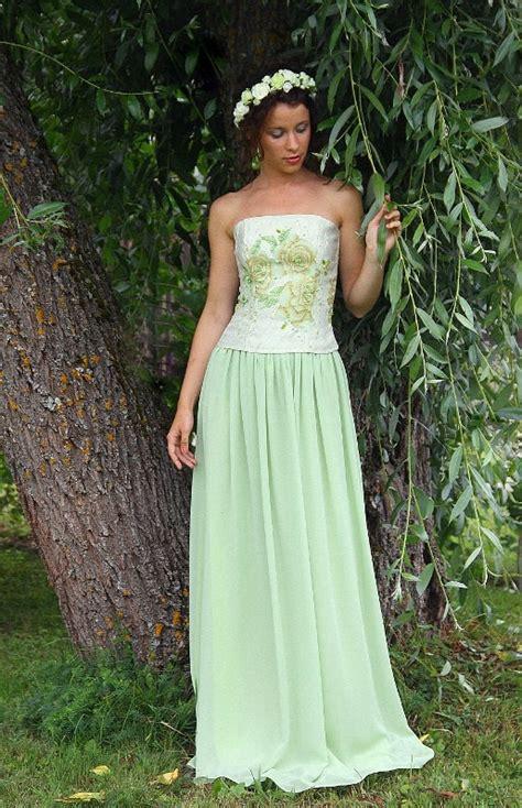 maxi skirt mint green simple bridal skirts handmade