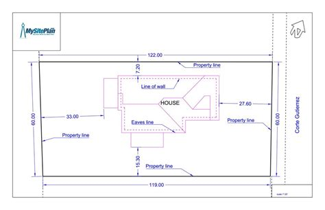 how to draw a site plan for a building permit simple plot plan by our designers and delivered as a pdf within 1 working day my site plan