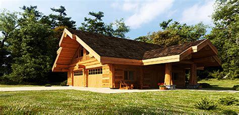 log garages  log barns floor plans bc canada