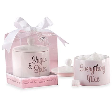 Kate Aspen Baby Shower Favors by Kate Aspen 174 Sugar Spice And Everything Ceramic Sugar