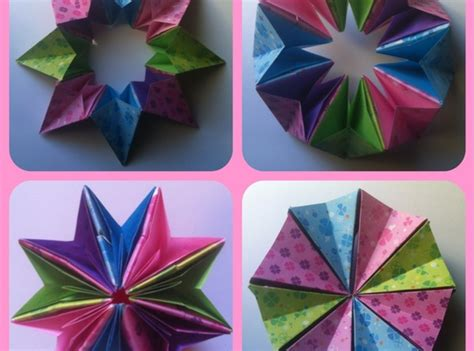 Medium Origami - how to make 3d origami magic circle medium easy snapguide