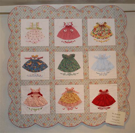 clothes quilt pattern smocked little dresses quilt kits for these blocks can