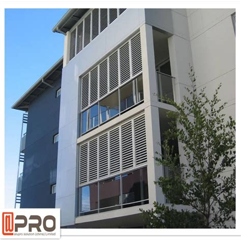 Exterior Louvered Door Fashion Design Exterior Aluminum Louvered Door View Louvers Apro Product Details From