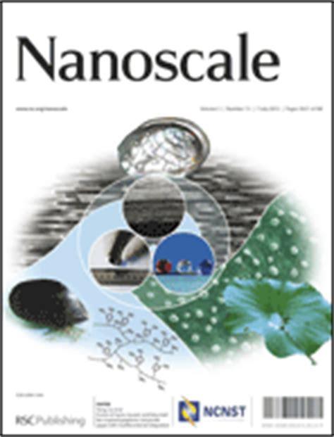 epl journal impact factor impact factor nanoscale blog