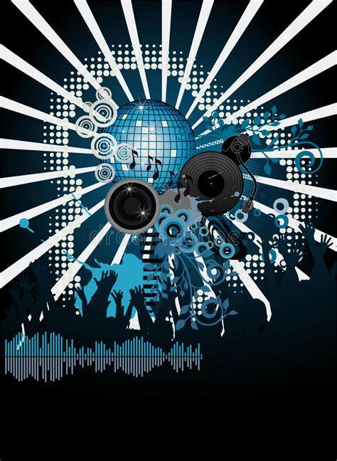 dj hantu cut music on 1 musica gratis music poster dj stock vector illustration of disco
