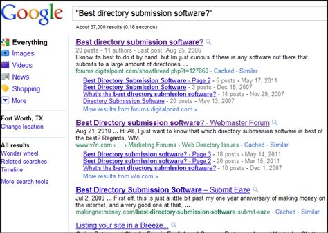Best Search Software Directory News And Updates From Best Of The Web Botw