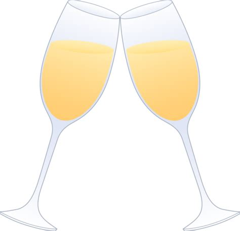 cartoon wine glass cheers cheers toasting glasses clipart