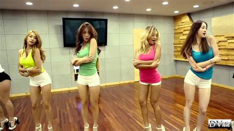 tutorial dance touch my body sistar touch my body dance practice dvhd youtube