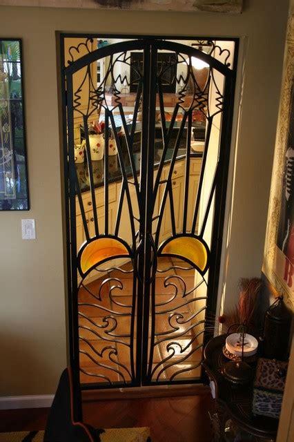 Interior Wrought Iron Doors Forge Iron Designs Mediterranean Interior Doors