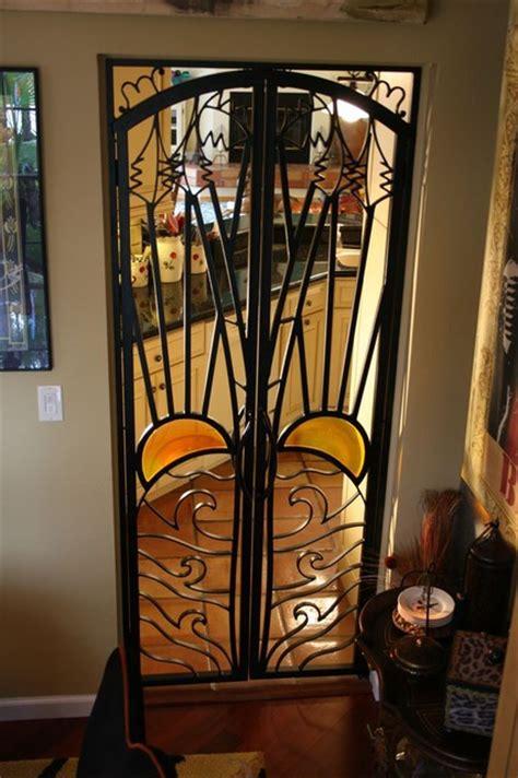 Interior Iron Gates by Forge Iron Designs Mediterranean Interior Doors