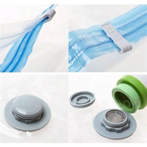 Plastik Vakum Compression Bags Clothes 6 storage compression seal vacuum bag set w manual air