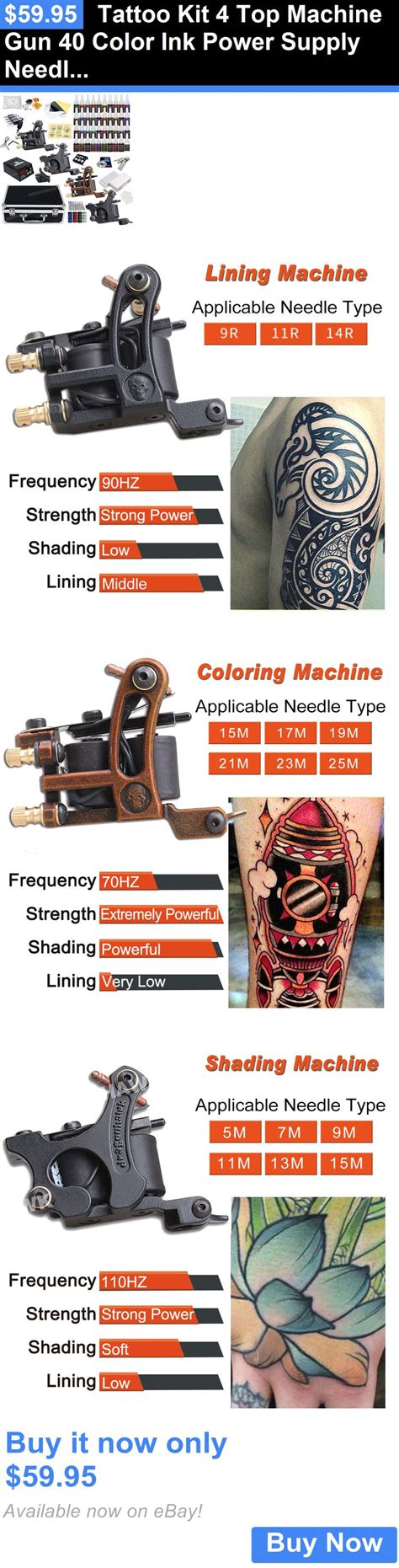 tattoo kits ebay 100 complete kits ebay complete kits