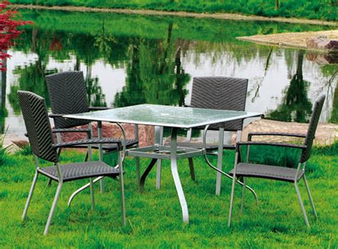 outdoor pvc furniture china pvc rattan outdoor furniture garden furniture