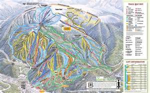 winter park ski resort trail maps ski