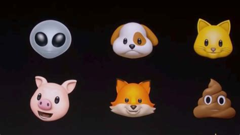 iphone x emoji trendreport apple announces animated emojis for iphone x