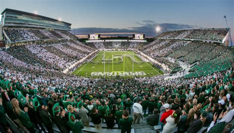 msu student section football tickets michigan state facilities official athletic site