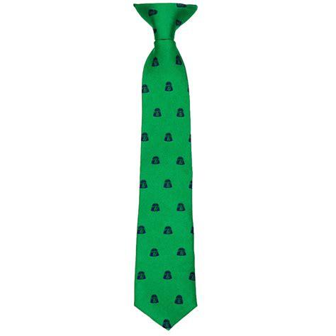green darth vader boys tie