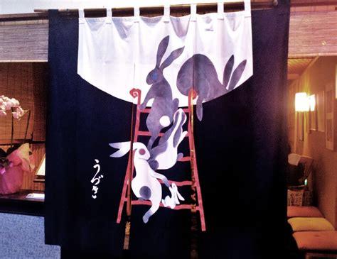 japanese restaurant door curtain the art of noren curtains adorning izakaya