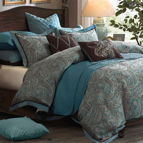 comforter bed sets paisley 9 10 pc comforter bed set