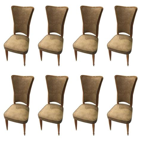 set of eight art deco dining room chairs at 1stdibs set of eight sycamore french art deco dining chairs for