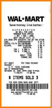 8 walmart receipt template hvac resumed