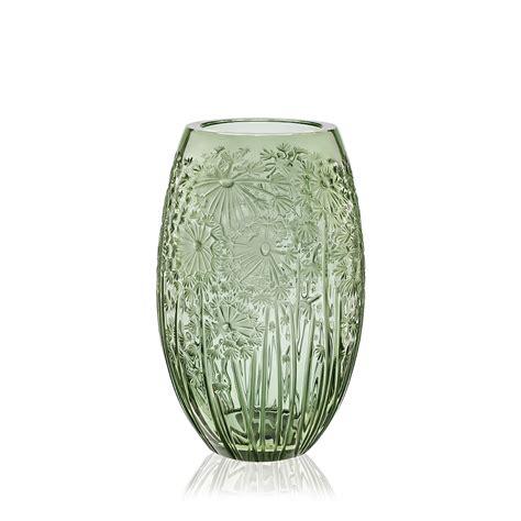 Lalique Green Vase bucolique vase green vase lalique lalique