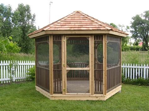 gazebo screen house pin by kristy cook on backyard screen houses pergolas and