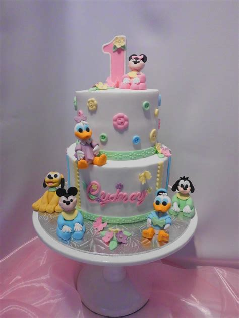 Baby Birthday Cake by Disney Babies Birthday Cake Cakecentral