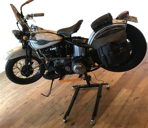 Motorrad Reifen Gleichzeitig Wechseln by Motorradheber Hooverbikerlift Bremsen Entl 252 Ften Ganz