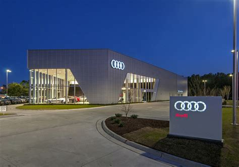 audi dealership design wilmington firm awarded for design on audi cape fear