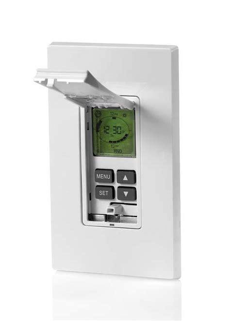 timer light switch amazon leviton vpt24 1pz vizia 24 hour programmable indoor timer