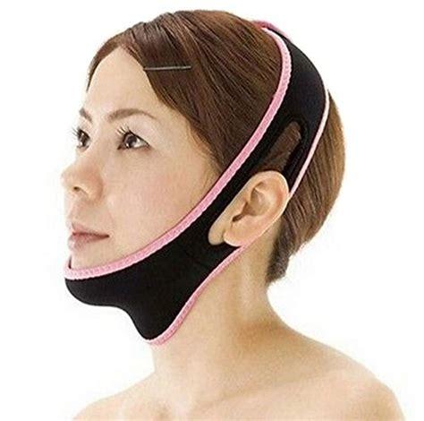Chin Strap Sagging Jowls | facial slimming chin strap anti aging chin lift facial