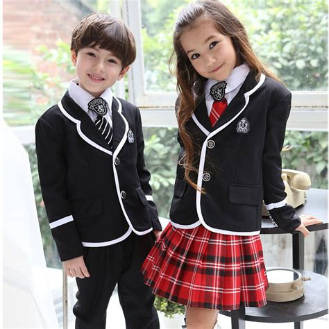 Seragam Mewah 01 back to school boy or contain jacket shirt skirt tie badge primary school student