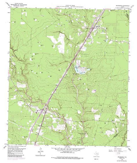 splendora texas map splendora topographic map tx usgs topo 30095b2