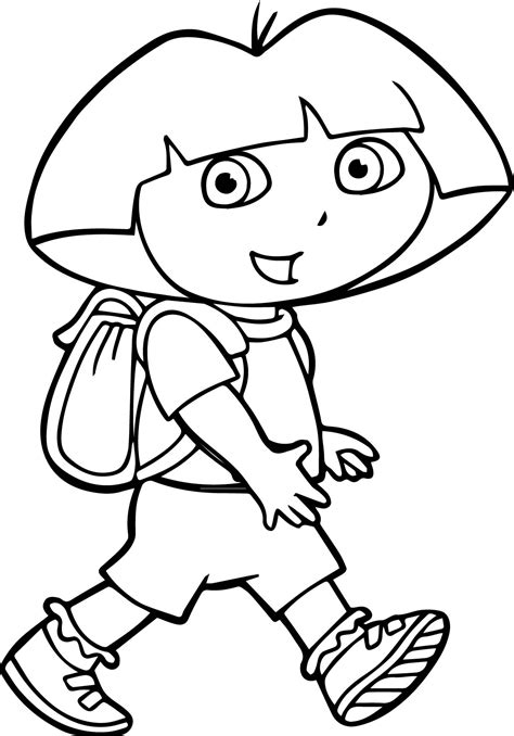 dora star coloring pages dora with the little star coloring page dora face