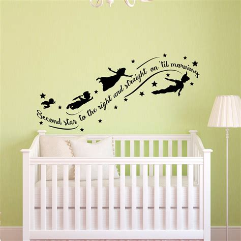 pan wall stickers pan wall decal quote wall decals nursery second