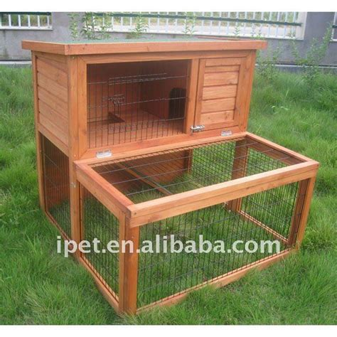 Cat Akrilik Non Toxic newest 3ft 2 story outdoor wooden rabbit cage hutches with