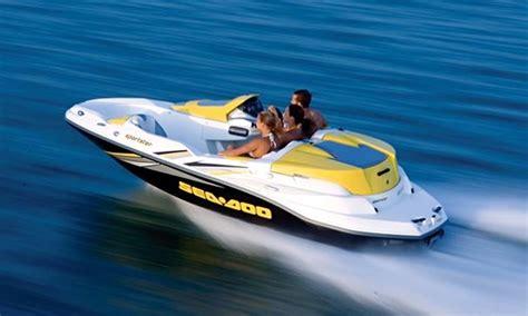 14ft quot seadoo sportster 4 tec quot jet boat rental in traverse - Sea Doo Boat Rentals