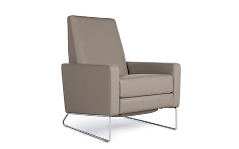 dwr flight recliner flight recliner in leather design within reach