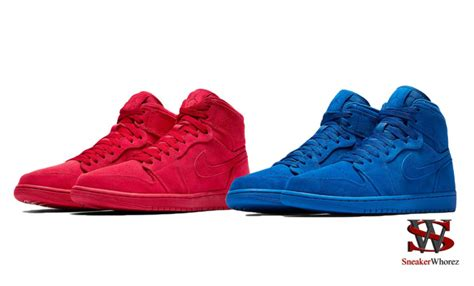 Airjordan5 High Suede Air 1 High Quot Suede Quot Collection Releasing In