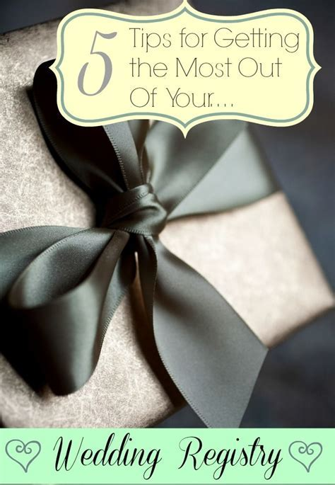 25  best ideas about Wedding Gift Registry on Pinterest
