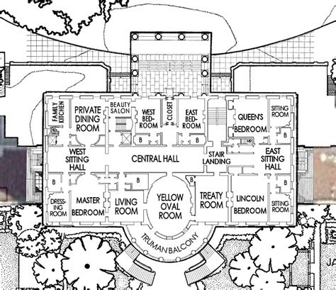 The White House Floor Plan by Floor Plan Of The White House East Wing