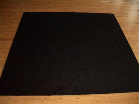 schwarzer teppich meterware 12 50 m 178 teppich autoteppich meterware schwarz