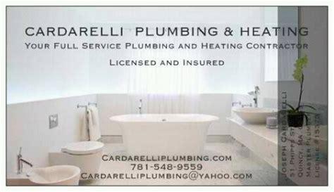 Dar Plumbing by Contact Cardarelli Plumbing Heating In The Boston Area