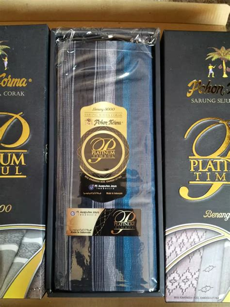 Sarung Pohon Korma Benang 9000 grosir sarung pohon korma platinum sarung murah surabaya 085755011417